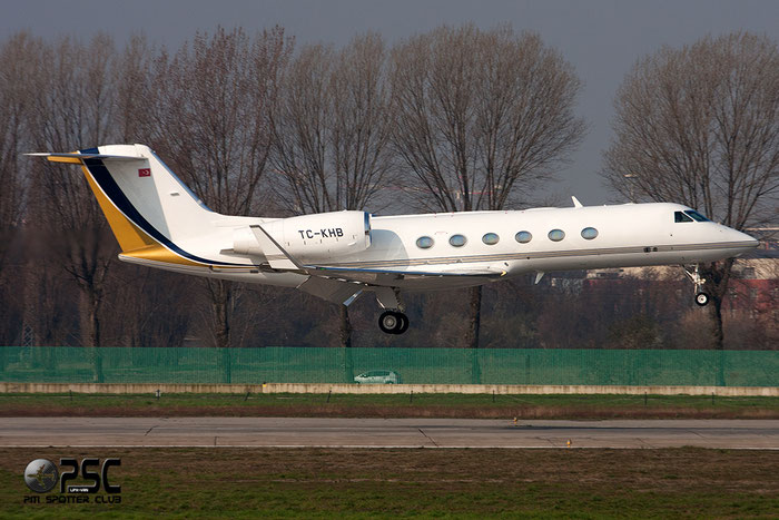 TC-KHB G450 4175 Gozen Air Services/Korfez Aviation @ Milano Linate Airport 08.03.2014 © Piti Spotter Club Verona