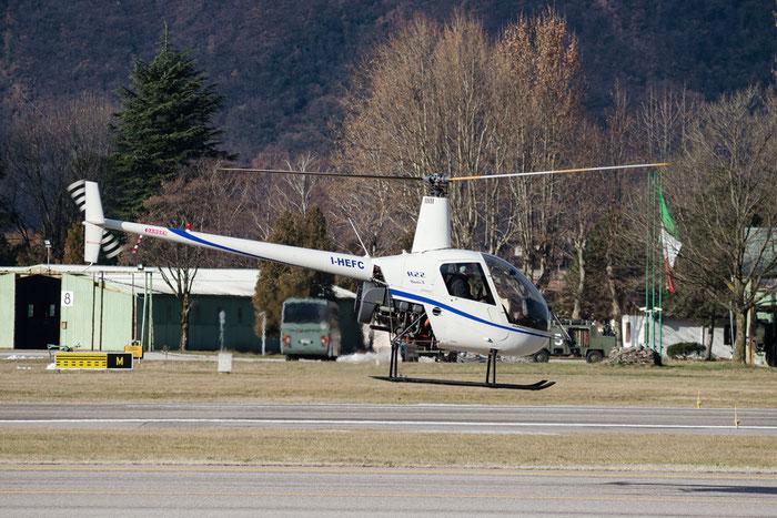 I-HEFC - Robinson R22 Beta II - Private @ Aeroporto di Bolzano © Piti Spotter Club Verona