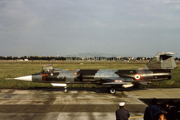 MM6736  4-20 (4-5)  F-104S-ASA  1036  9° Gruppo CIO © Piti Spotter Club Verona