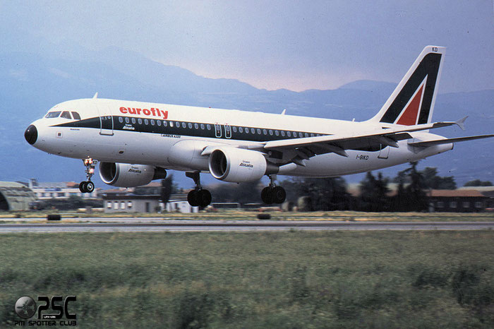 I-BIKD  A320-214  1457  Eurofly  @ Aeroporto di Verona © Piti Spotter Club Verona