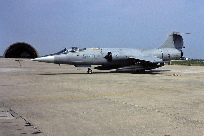 MM6932  5-40 F-104S-ASA-M  1232 © Piti Spotter Club Verona