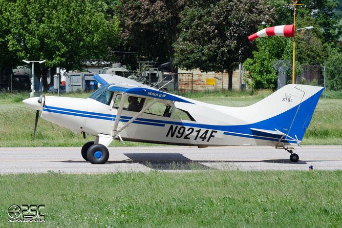 N9214F MAULE M-7-235 M7 4105C CLEMENTE GIUSEPPE DBA @ Aeroporto di Bolzano © Piti Spotter Club Verona