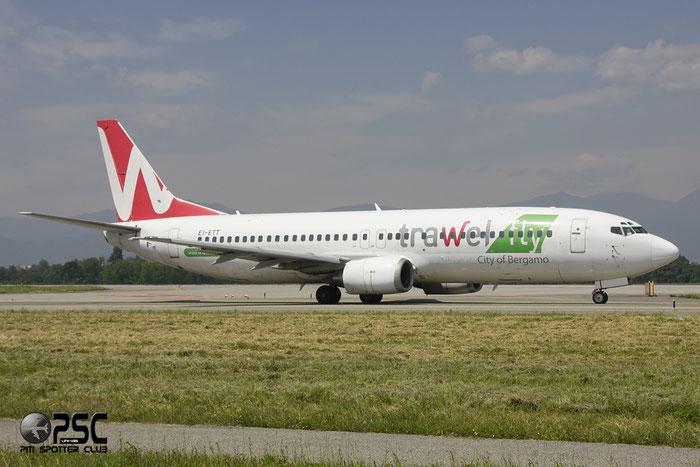 EI-ETT B737-4K5 24125/1687 Mistral Air Trawelfly c/s @ Bergamo Airport 02.06.2012 © Piti Spotter Club Verona