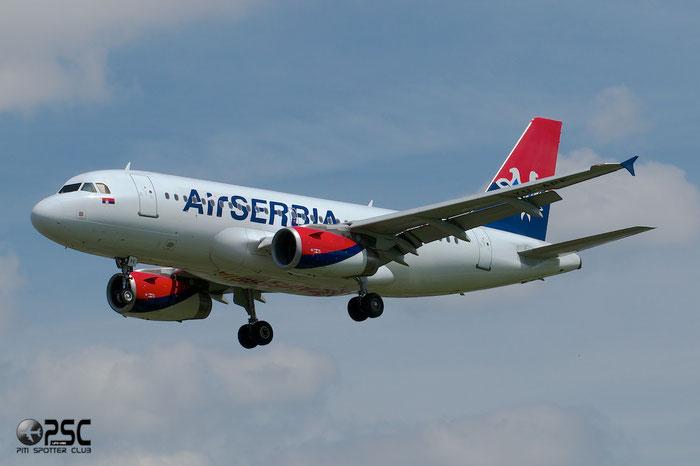 YU-APE A319-132 3252 Air Serbia @ London Heathrow Airport 12.06.2014 © Piti Spotter Club Verona