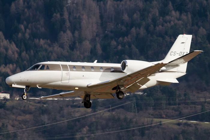 CS-DXZ Ce560XLS 560-5796 NetJets Europe @ Aeroporto di Bolzano © Piti Spotter Club Verona