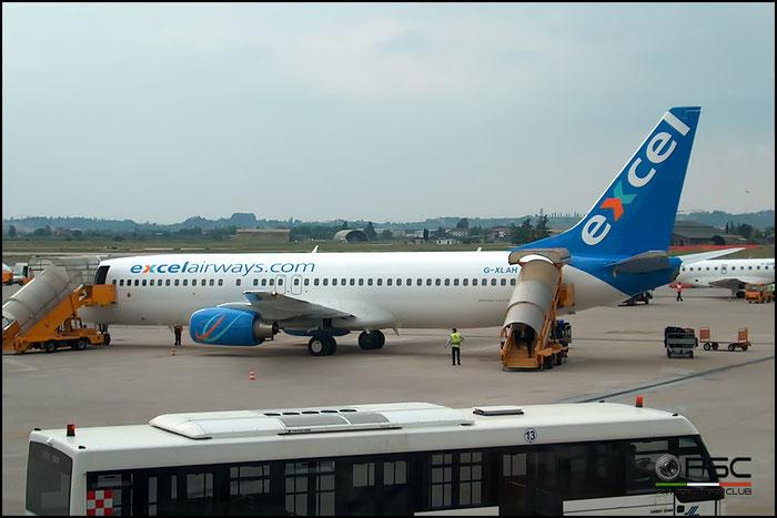 G-XLAH  B737-8Q8  29351/1471  Excel Airways  @ Aeroporto di Verona © Piti Spotter Club Verona
