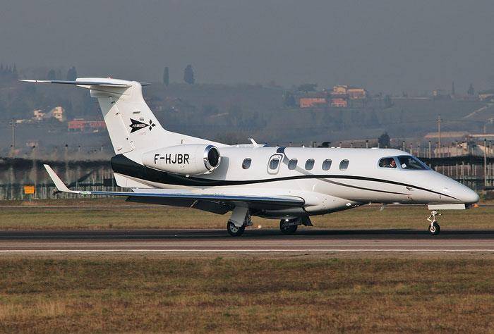 F-HJBR EMB505 50500278 Air Breizh @ Aeroporto di Verona 02.2018  © Piti Spotter Club Verona