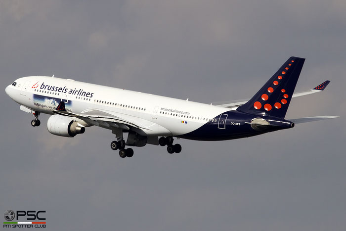 OO-SFT A330-223 291 Brussels Airlines @ Bruxelles Airport 14.03.2018 © Piti Spotter Club Verona