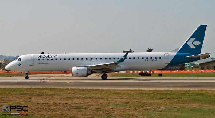 I-ADJK ERJ195LR 19000245 Air Dolomiti @ Aeroporto di Verona 04.2019  © Piti Spotter Club Verona