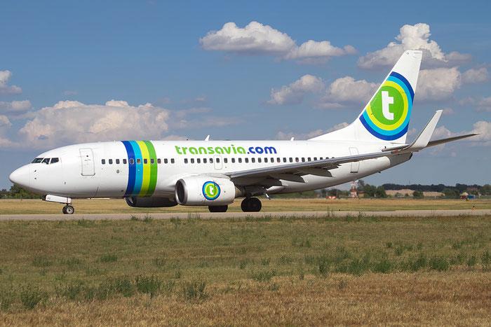 PH-XRB B737-7K2 28256/1298 Transavia Airlines @ Bologna Airport 20.08.2015  © Piti Spotter Club Verona