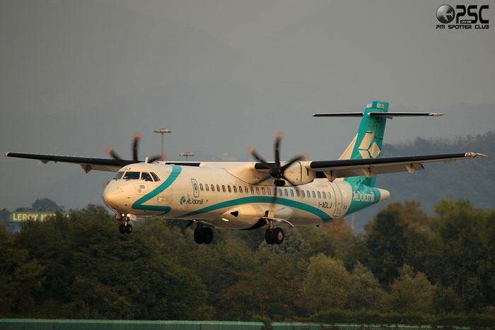 I-ADLJ ATR72-212A 686 Air Dolomiti @ Bergamo Airport 22.09.2013 © Piti Spotter Club Verona