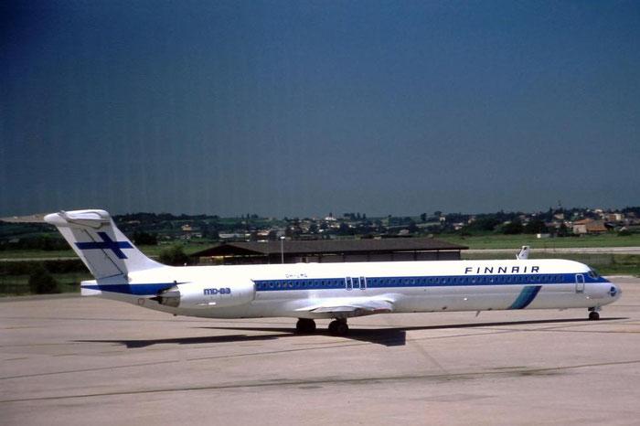 OH-LMG MD-83 49625/1503 Finnair @ Aeroporto di Verona © Piti Spotter Club Verona