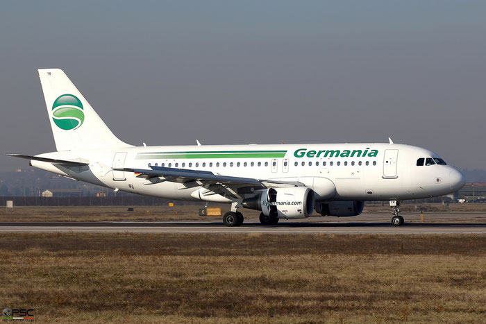 D-ASTR A319-111 3950 Germania