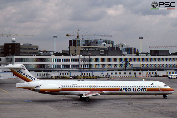 D-ALLF MD-83 49602/1435 Aero Lloyd © 2018 courtesy of Marco Ceschi - Piti Spotter Club Verona