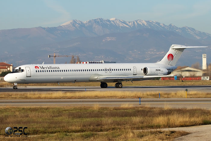 I-SMET  MD-82  49531/1362  Meridiana Fly  @ Aeroporto di Verona © Piti Spotter Club Verona