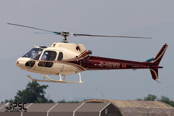 Private Aérospatiale AS 350B Ecureuil - D-HEWR @ Aeroporto di Verona © Piti Spotter Club Verona