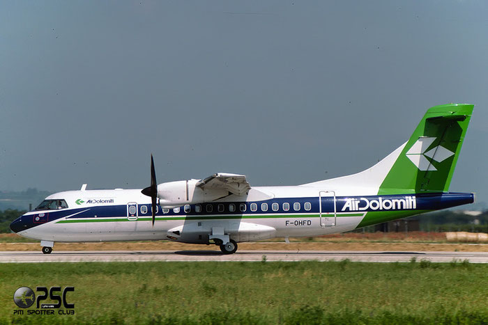 F-OHFD  ATR42-320  374  Air Dolomiti  @ Aeroporto di Verona © Piti Spotter Club Verona