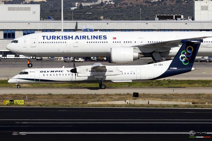 SX-OBA  DHC-8-402  4267  Olympic Air  @ Athens 2019 © Piti Spotter Club Verona
