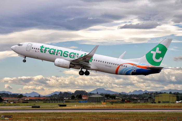 PH-HSR B737-8KN 40236/3110 Transavia Airlines @ Aeroporto di Verona 26.07.2017  © Piti Spotter Club Verona