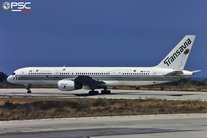PH-TKB B757-2K2 26634/545 Transavia Airlines @ Rhodes Airport 1994 © Piti Spotter Club Verona