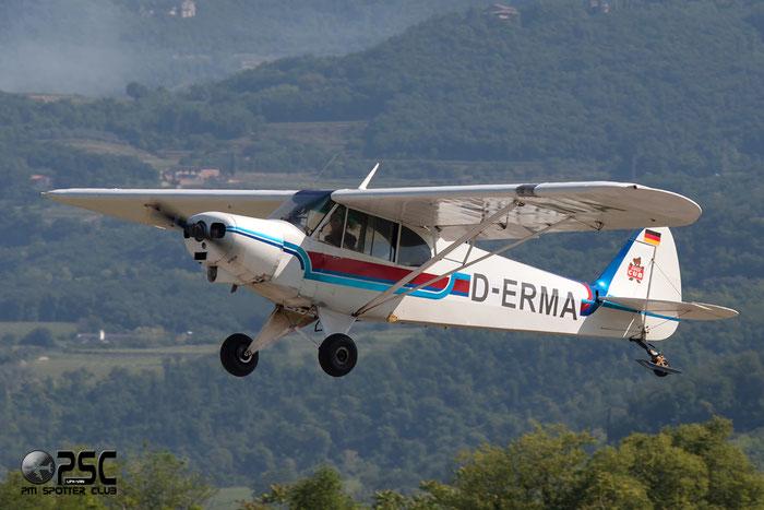 D-ERMA Piper PA-18 PA18 @ Aeroporto Verona Boscomantico © Piti Spotter Club Verona