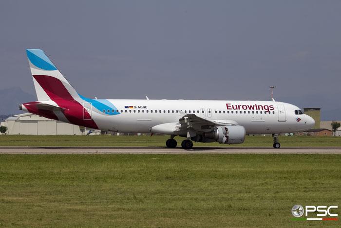 D-ABNE A320-214 2003 Eurowings @ Aeroporto di Verona 30.04.2017  © Piti Spotter Club Verona