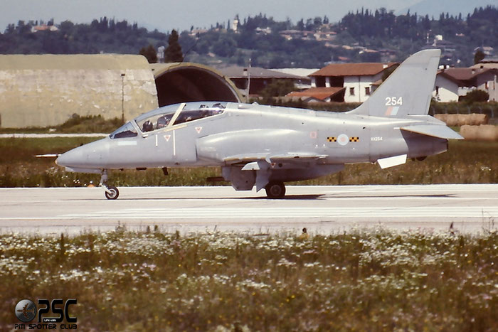 XX254   Hawk T1A  312090/090   @ Aeroporto di Verona   © Piti Spotter Club Verona