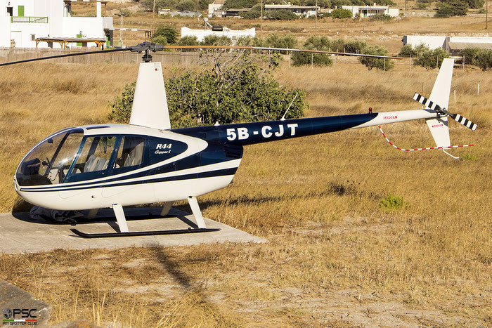 5B-CJT, Robinson R44 Clipper, 0580Private - @ Milos Airport 2020 © Piti Spotter Club Verona