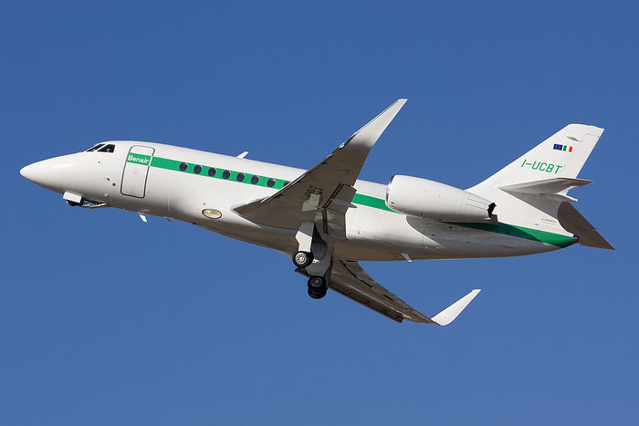I-UCBT · DASSAULT AVIATION Falcon 2000LX, Benair@ Treviso Airport 21.02.2012 © Piti Spotter Club Verona