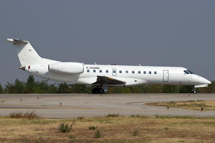 F-GOHD ERJ135ER 145252 Equaflight Service @ Bologna Airport 10.10.2011 © Piti Spotter Club Verona