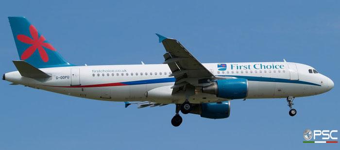 G-OOPU A320-214 1637 First Choice Airways @ Aeroporto di Verona 28.06.2008  © Piti Spotter Club Verona