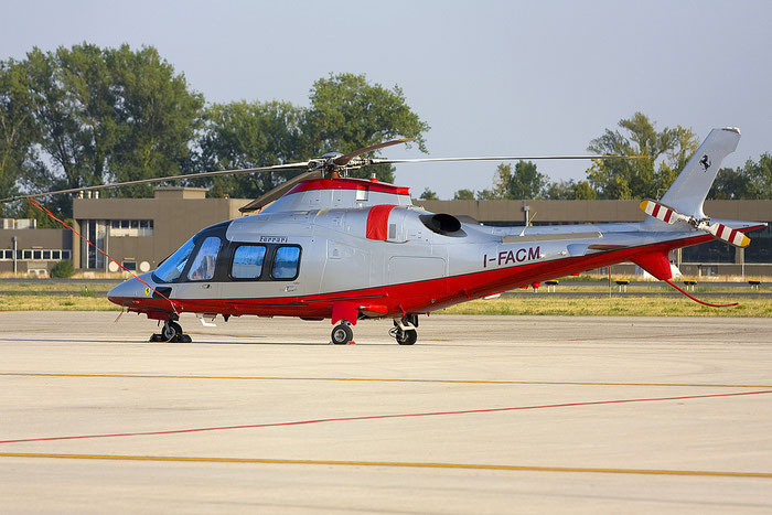 I-FACM AgustaWestland A109S Grand ( c/n 22030 ) - mfg: 2007 @ Treviso Airport 24.08.2012 © Piti Spotter Club Verona