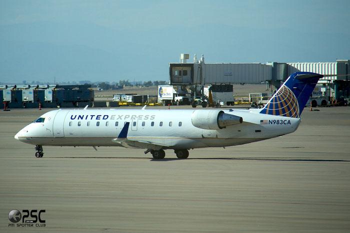 N983CA CRJ100ER 7169 SkyWest Airlines  @ Denver Airport 25.09.2014 © Piti Spotter Club Verona