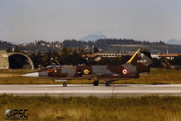 Gli F-104 del Terzo Stormo: 3-31 -  @ Aeroporto di Verona   © Piti Spotter Club Verona