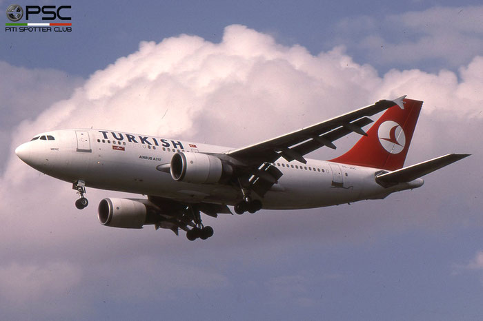 TC-JDC A310-304 537 Turkish Airlines - THY Türk Hava Yollari © 2018 courtesy of Marco Ceschi - Piti Spotter Club Verona