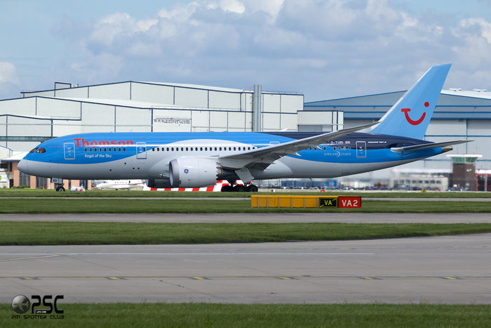 G-TUID B787-8 36424/106 Thomson Airways @ Manchester Airport 13.05.2014 © Piti Spotter Club Verona