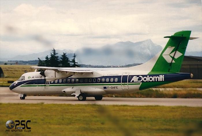 F-OHFE  ATR42-320  378  Air Dolomiti  @ Aeroporto di Verona © Piti Spotter Club Verona