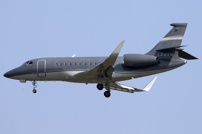 LX-EVM Falcon 2000LX 181 Global Jet Luxembourg @ Venezia Airport 05.06.2015 © Piti Spotter Club Verona