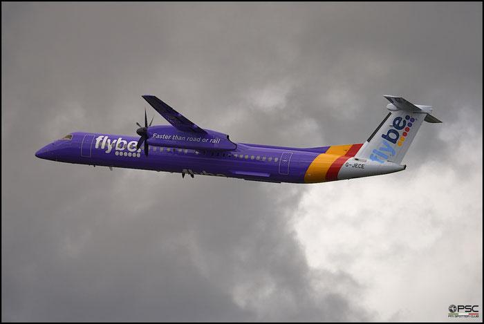 G-JECE DHC-8-402 4094 Flybe - British European  @ Manchester Airport 21.06.2015  © Piti Spotter Club Verona