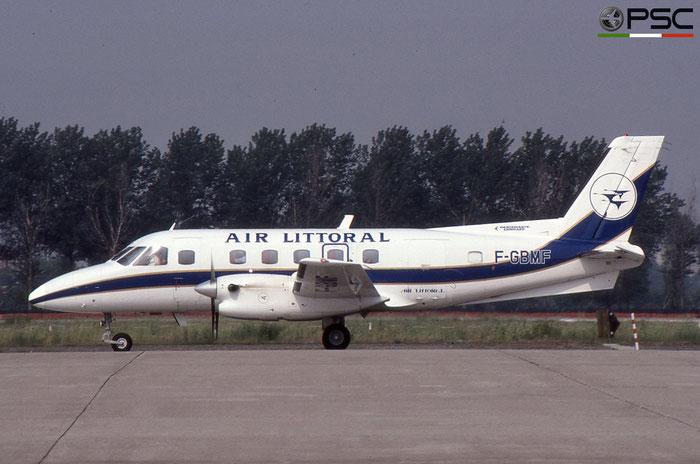 F-GBMF EMB110P2 110196 Air Littoral © 2018 courtesy of Marco Ceschi - Piti Spotter Club Verona