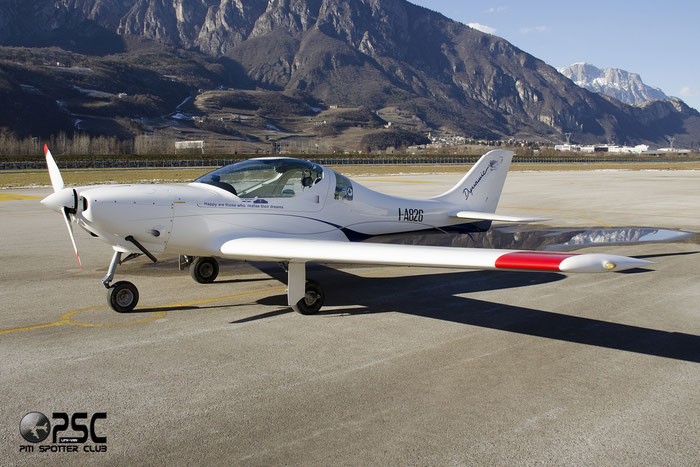 I-A826 - AeroSpool Dynamic WT9 LSA @ Aeroporto di Trento © Piti Spotter Club Verona
