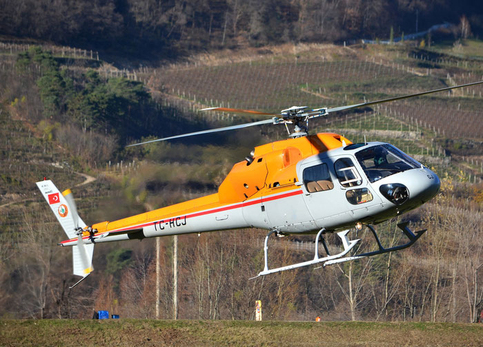 TC-HCJ - Aerospatiale AS-355F-2 Ecureuil 2 - Private @ Aeroporto di Trento © Piti Spotter Club Verona