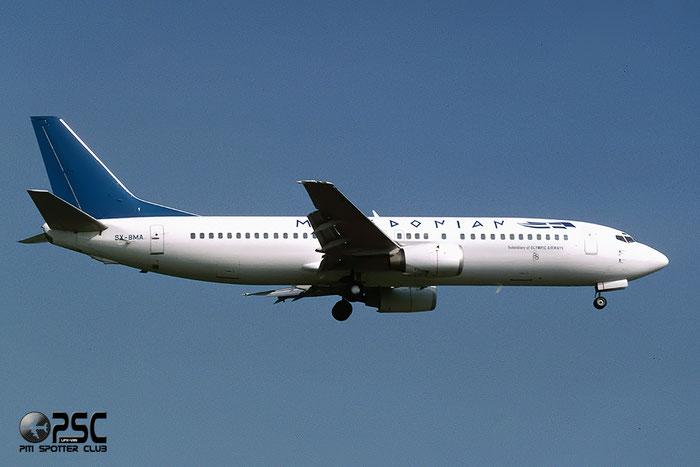SX-BMA  B737-46J  27171/2465  Macedonian Airlines Greece  @ Aeroporto di Verona © Piti Spotter Club Verona
