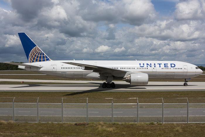 N798UA B777-222ER 26928/123 United Airlines @ Frankfurt Airport 08.05.2015 © Piti Spotter Club Verona