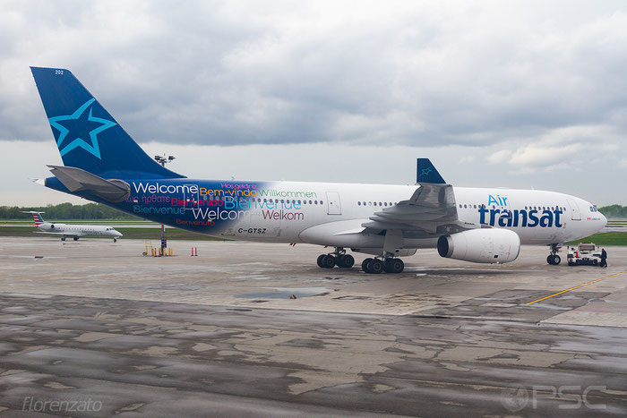 C-GTSZ A330-243 971 Air Transat @ Montreal Airport  © Piti Spotter Club Verona