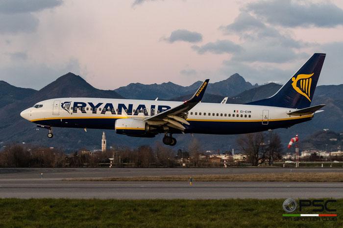 EI-EVM B737-8AS 40296/3983 Ryanair @ Bergamo Airport 05.01.2017 © Piti Spotter Club Verona