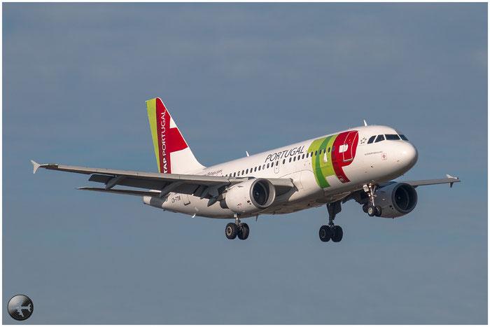 CS-TTM A319-111 1106 TAP Portugal - Transportes Aéreos Portugueses @ Bologna Airport 02.01.2015 © Piti Spotter Club Verona