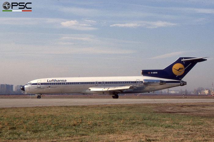 D-ABKN B727-230 21618/1404 Lufthansa © 2018 courtesy of Marco Ceschi - Piti Spotter Club Verona