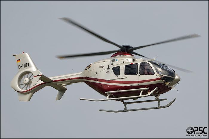 D-HIFI Eurocopter EC135T2+ ( c/n 0672 ) - mfg: 2008 @ Aeroporto di Verona © Piti Spotter Club Verona