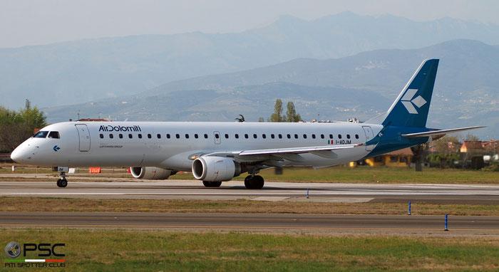 I-ADJM ERJ195LR 19000258 Air Dolomiti @ Aeroporto di Verona 04.2019  © Piti Spotter Club Verona